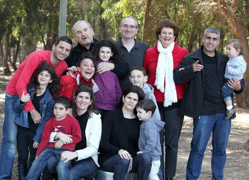 צילום משפחתי מורחב