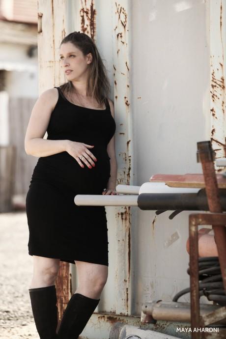 צילום היריון טבעי