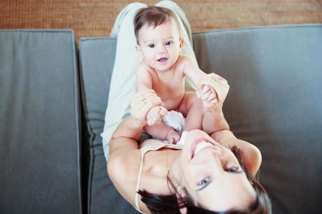 צילומים ביתיים עם תינוק
